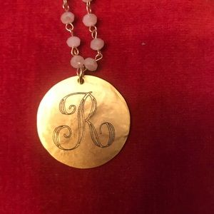 Beaucoup Monogrammed Necklace